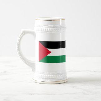 Bandera de Palestina Jarra De Cerveza