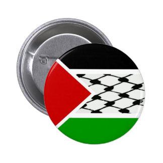 Bandera de Palestina Keffiyeh Pin Redondo 5 Cm