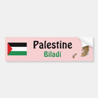 Bandera de Palestina + Pegatina para el parachoque Pegatina Para Auto