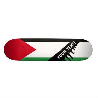 Bandera de Palestina Tabla De Skate
