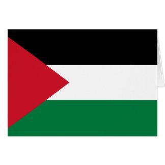 Bandera de Palestina Tarjeta Pequeña