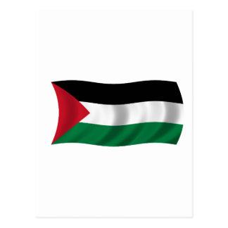 Bandera de Palestina Tarjeta Postal