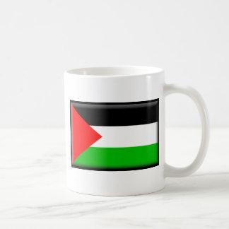Bandera de Palestina Taza Básica Blanca