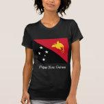 Bandera de Papúa Nueva Guinea Camisetas