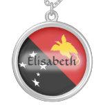 Bandera de Papúa Nueva Guinea + Collar conocido