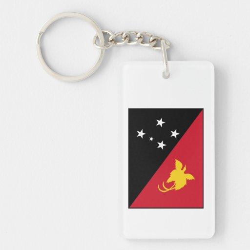 Bandera de Papúa Nueva Guinea Llavero