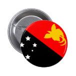 Bandera de Papúa Nueva Guinea Pins