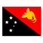 Bandera de Papúa Nueva Guinea Postales