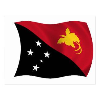 Bandera de Papúa Nueva Guinea Postal