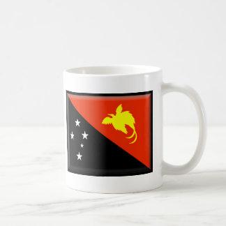 Bandera de Papúa Nueva Guinea Taza Clásica