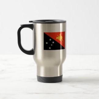Bandera de Papúa Nueva Guinea Taza Térmica