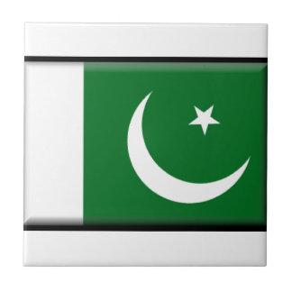 Bandera de Paquistán Azulejos Ceramicos