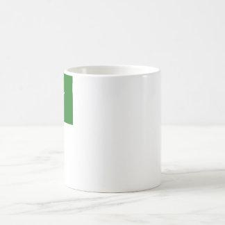 Bandera de Paquistán con nombre en Urdu Tazas De Café