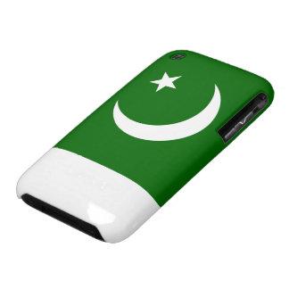 Bandera de Paquistán iPhone 3 Carcasa