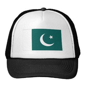Bandera de Paquistán Gorras