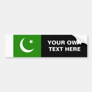 Bandera de Paquistán Pegatina Para Auto