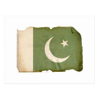 Bandera de Paquistán Postal