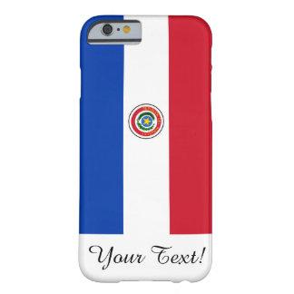 Bandera de Paraguay Funda De iPhone 6 Barely There