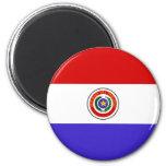 Bandera de Paraguay Imán De Frigorifico