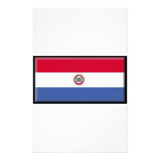 Bandera de Paraguay Personalized Stationery