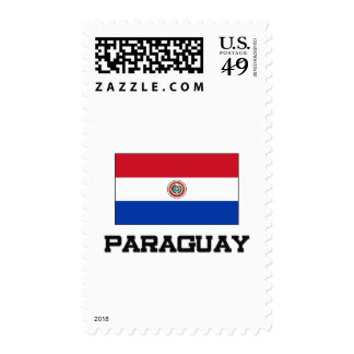 Bandera de Paraguay Franqueo