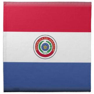 Bandera de Paraguay Servilleta De Papel