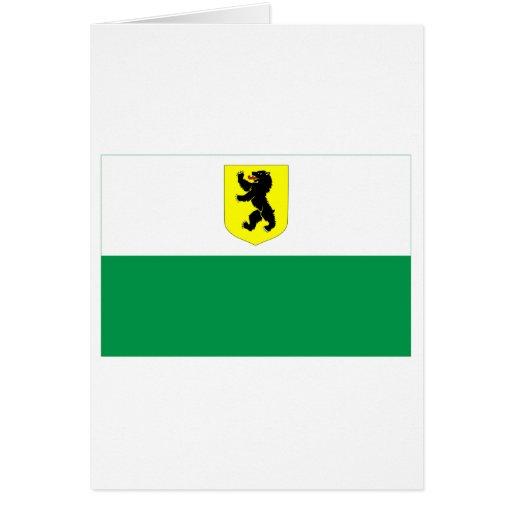 Bandera de Pärnu Tarjeta De Felicitación