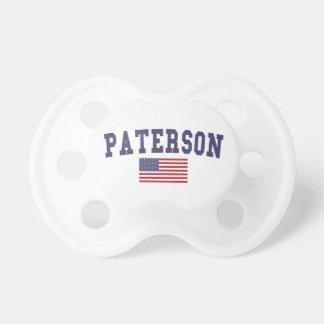 Bandera de Paterson los E.E.U.U. Chupetes Para Bebés