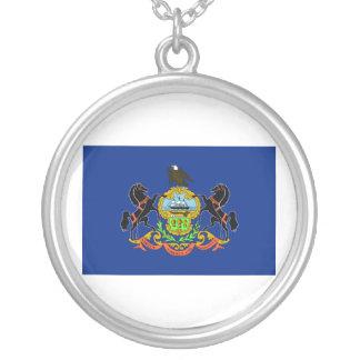 Bandera de Pennsylvania Colgante Redondo
