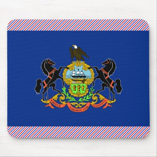 Bandera de Pennsylvania Tapetes De Raton