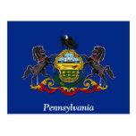 Bandera de Pennsylvania Tarjetas Postales