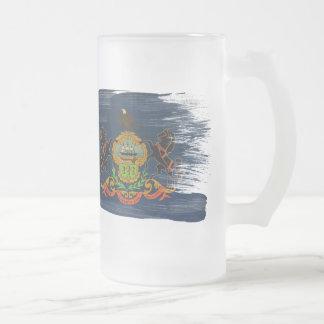 Bandera de Pennsylvania Taza De Cristal