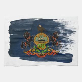 Bandera de Pennsylvania Toallas De Mano