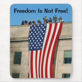 Bandera de Pentágono 9/11 Mousepads
