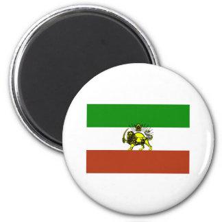 Bandera de Persia Imán Redondo 5 Cm
