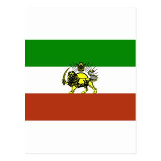 Bandera de Persia Postales
