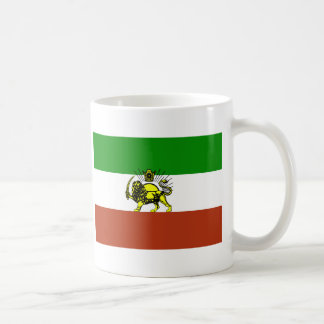 Bandera de Persia Taza De Café