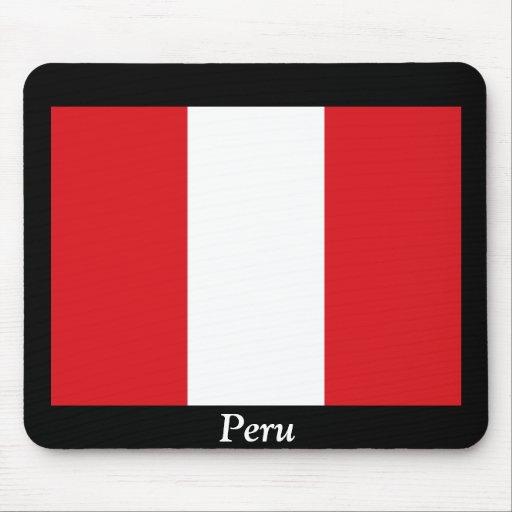 Bandera de Perú Alfombrillas De Ratones