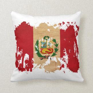 Bandera de Perú Almohada