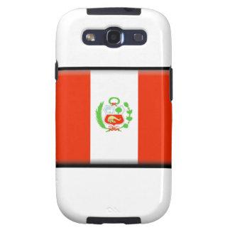 Bandera de Perú Galaxy SIII Carcasas