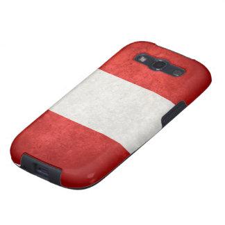 Bandera de Perú Galaxy S3 Cobertura
