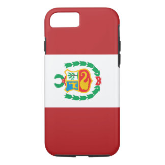 Bandera de Perú Funda iPhone 7