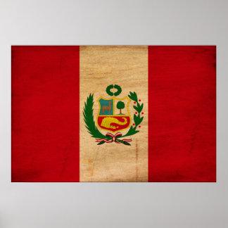 Bandera de Perú Impresiones