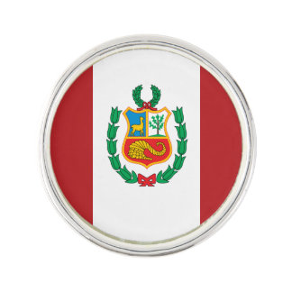 Bandera de Perú Pin