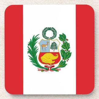 Bandera de Perú Posavaso