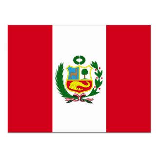 Bandera de Perú Postal