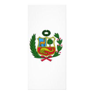 Bandera de Perú Tarjetas Publicitarias