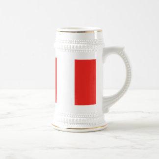 Bandera de Perú Taza De Café