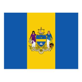 Bandera de Philadelphia Tarjetas Postales