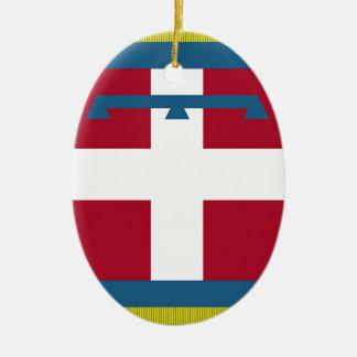 Bandera de Piamonte (Italia) Ornamente De Reyes